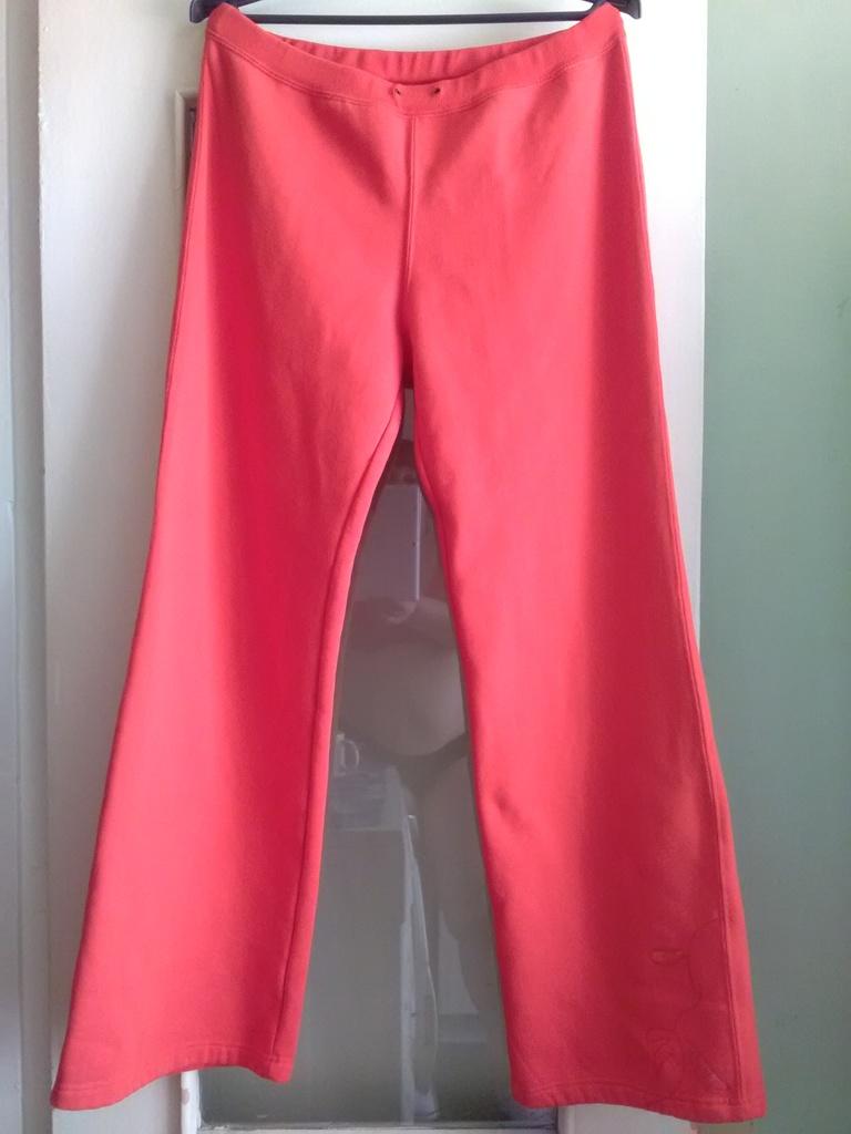 Теплые спортивные брюки-трубы