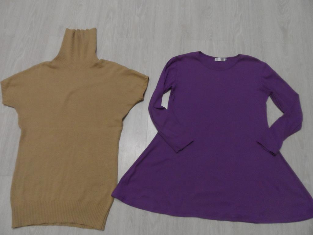 Фирменные теплые платья туники джемпера р-р 48-50
