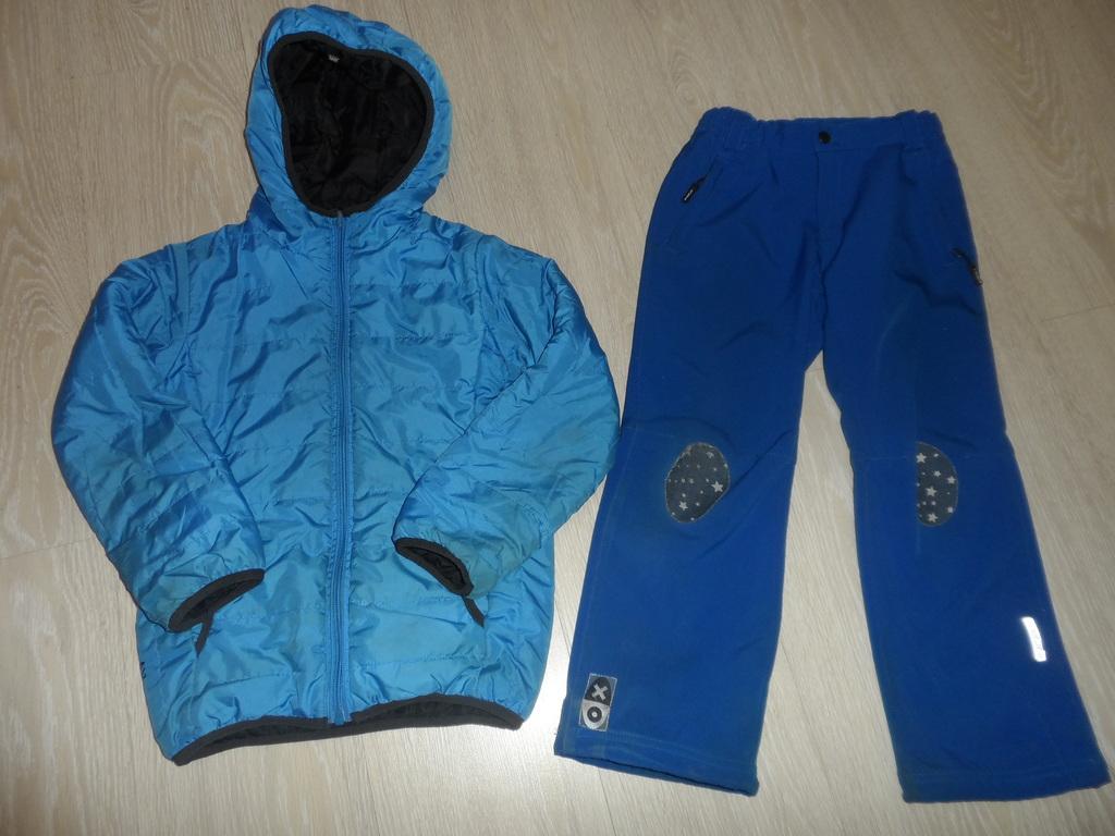 Куртки безрукавки брюки штаны вес осень на 5-8 лет