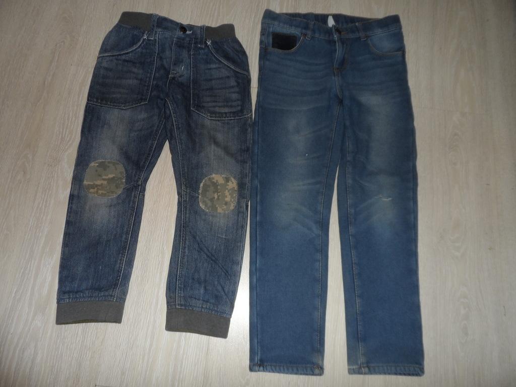 Джинсы на флисе и без, штаны спортивные 6-9 лет