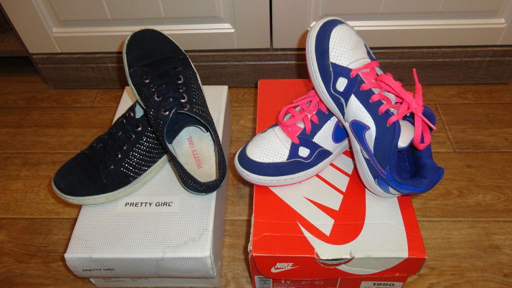 Фирменная обувь  б/у в идеале на 31-32р.пакетом!!!