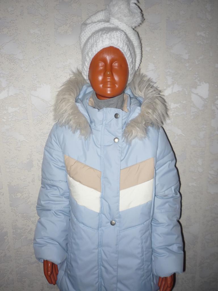 KERRY Керри новая зимняя куртка р 128 для девочки