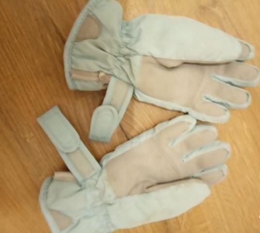 теплые перчатки ziener для девочки или мальчика