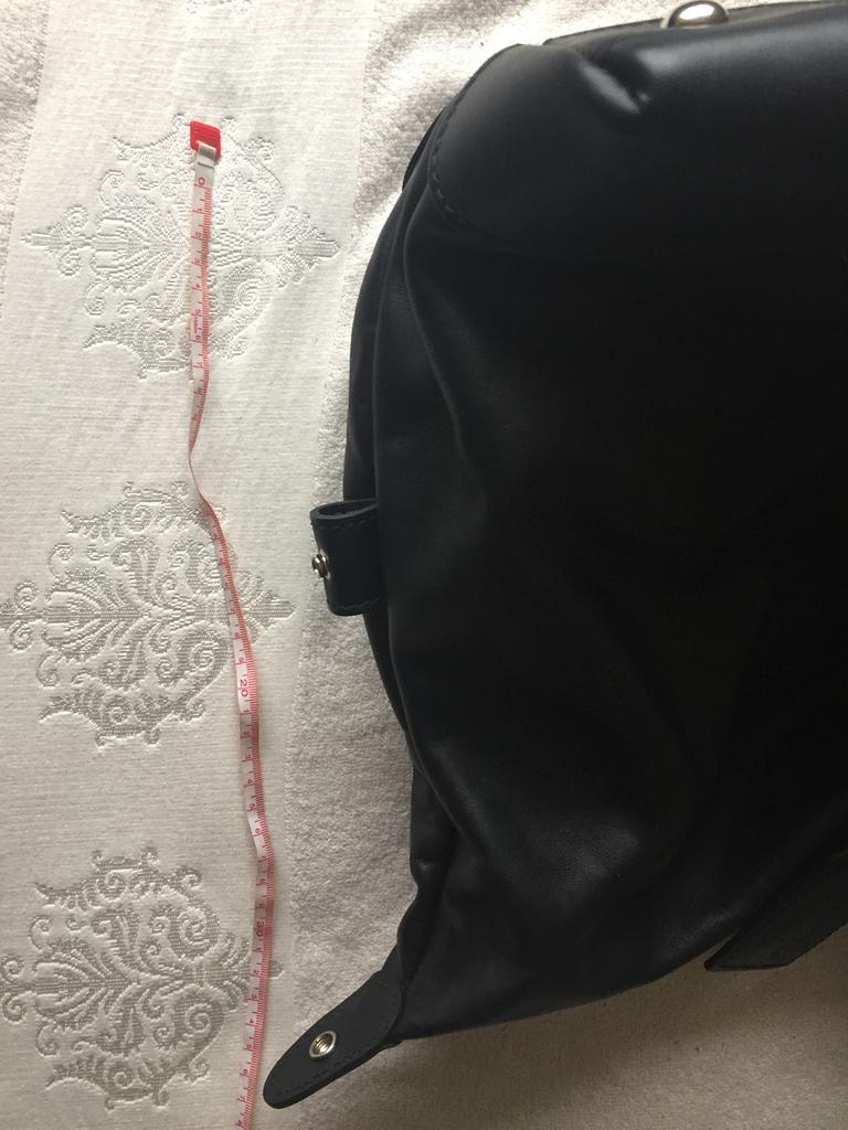Сумка большая новая Samsonite Италия чёрная кожа с замком мужская женская багаж ручная кладь