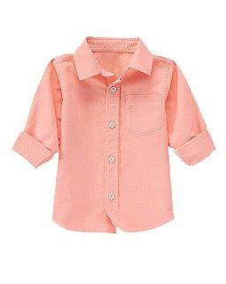 Рубашка Crazy8 розовая