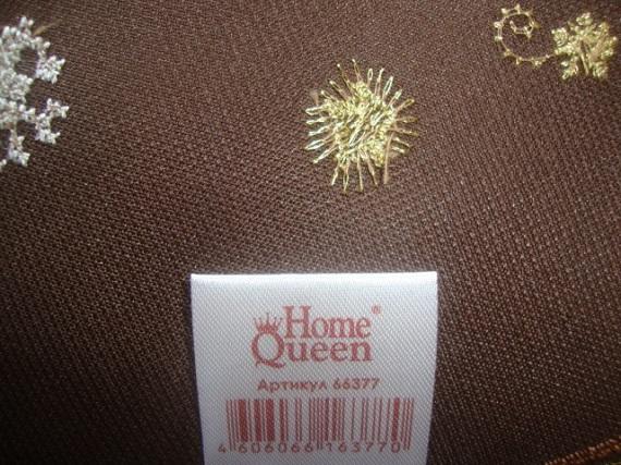 Новый комплект HOME Queen (скатерть+3 салфетки).