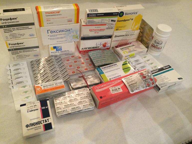 препараты после стентирования