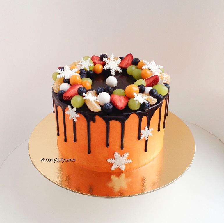 Торты на день рождения кремовый своими руками