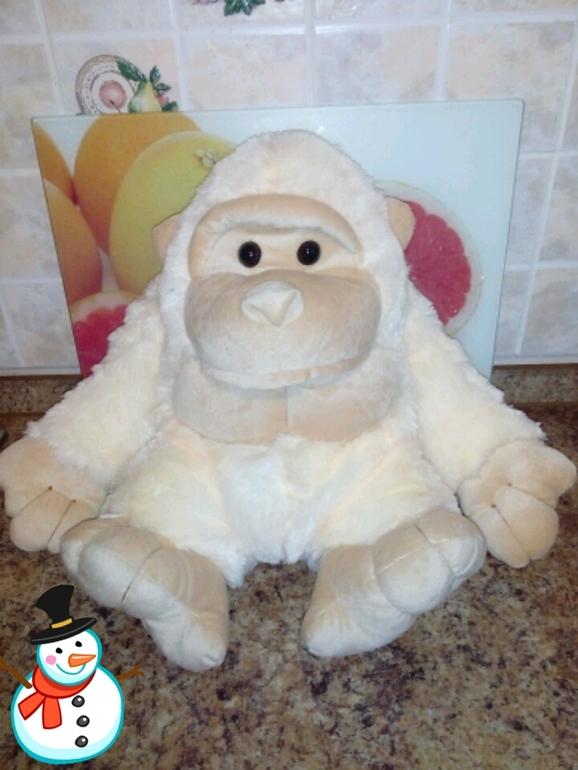 Подарок обезьянка с конфетами