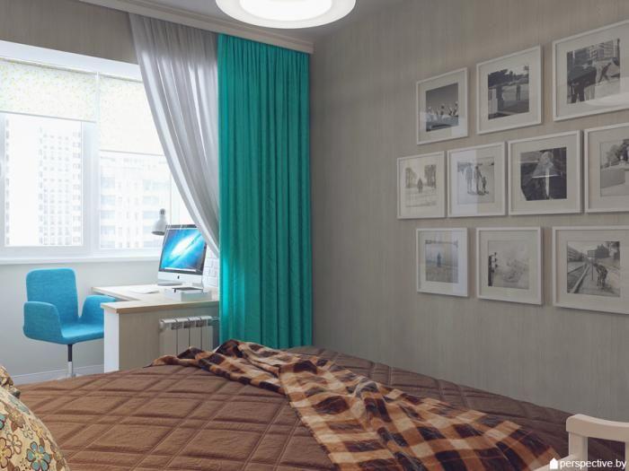 Как оформить окно? - комната совмещенная с лоджией дизайн фо.