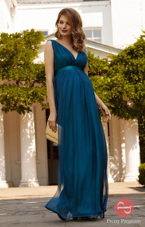 Платье на торжество беременной