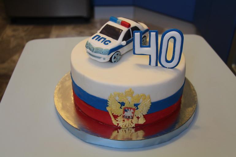 фото торт для полицейского