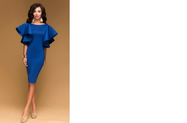 Модели платья из неопрена
