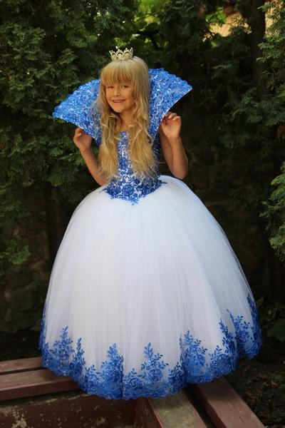 Фото платье для снежной королевы