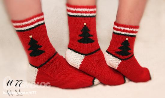 кто сможет связать много новогодних носков запись пользователя De