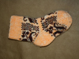 Теплые носочки годика на 3-4