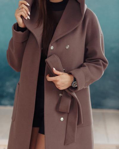 Пальто 22450 (кофе)