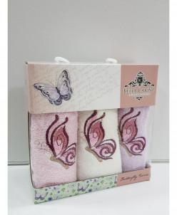 Кухонные салфетки в упаковке Bella Carine 3 шт 30x50 см 2019