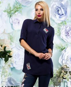Удлиненная рубашка - 14771