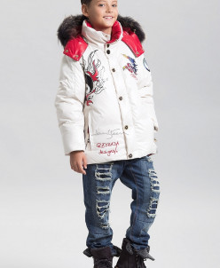 Куртка для мальчиков,пух