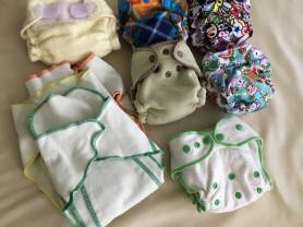 Многоразовые подгузники на новорожденного