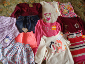 Новые вещи Gymboree,Carters,Crazy для дев 5-7 лет
