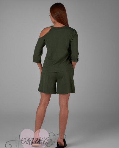 Женский костюм ЖК 013 (хаки)
