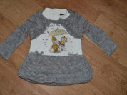 Платье-туника размер 12-24 мес