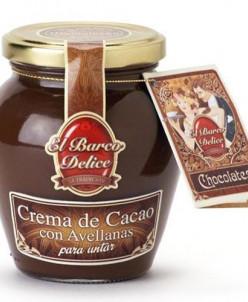 Шоколадная паста с лесными орехами - El Barco Delice (350 г)