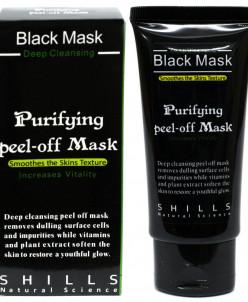 Черная отшелушивающая маска для глубокого очищения