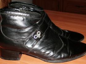Ботинки демисезонные натуральная кожа GRASSI р.40