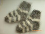 Носки из ангоры ручной вязки, на 12мес., новые