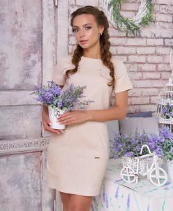 """Платье """"Эмилия"""" (бежевый)"""