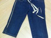 Бриджи джинсовые на девочку (Италия)