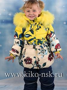 Костюм для девочки зимний