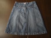 Юбка джинсовая на рост 134-140