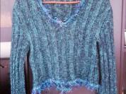 Необычный пуловер 44 - 46 разм