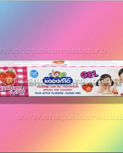 Детская тайская зубная паста – гель с ксилитом и фтором
