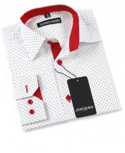 Рубашка в горошек 164-170 см