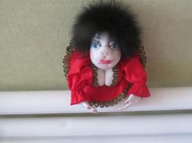 Кукла попик.