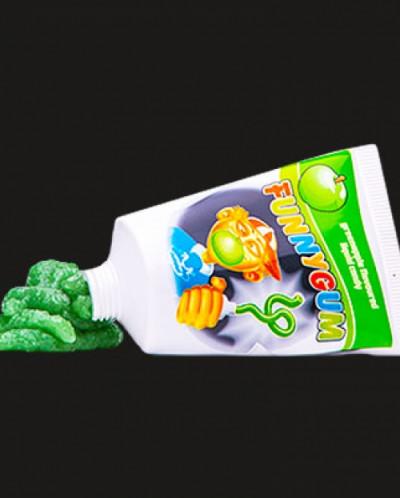 Funny Gum Apple
