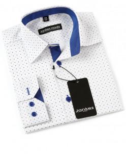 Рубашка в горошек 152-158 см
