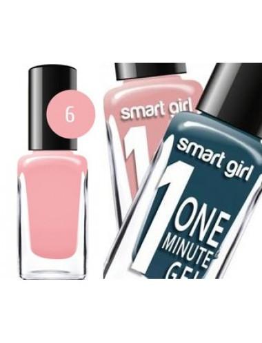 "БД Лак для ногтей ""Smart Girl"" One minute №006, 14587"