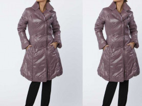 Пальто на синтепоне, есть врезные карманы!