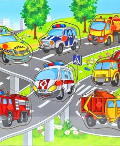 Вкладыши Городской транспорт