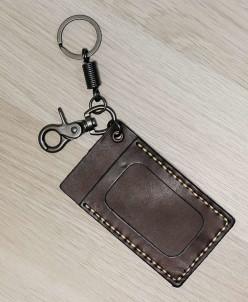 Кожаный брелок на сумку Dierhoff Д 6012-9902
