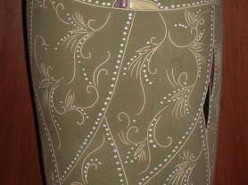 Ваза керамика восточный стиль высота 42 см