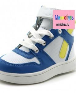 Ботинки КОЛОБОК X7449 белый (23-32)