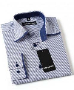 Рубашка в полоску  116-146 см