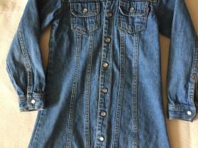 джинсовый плащик